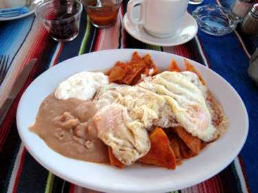 chilaquiles red apple