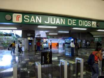 guadalajara train san juan de dios station