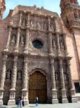 mexico zacatecas cathedral