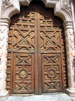 mexico zacatecas cathedral doors