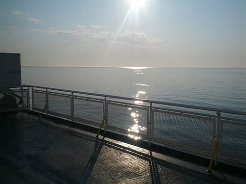 ferry_sunrise